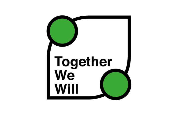 Together We Will campaign logo