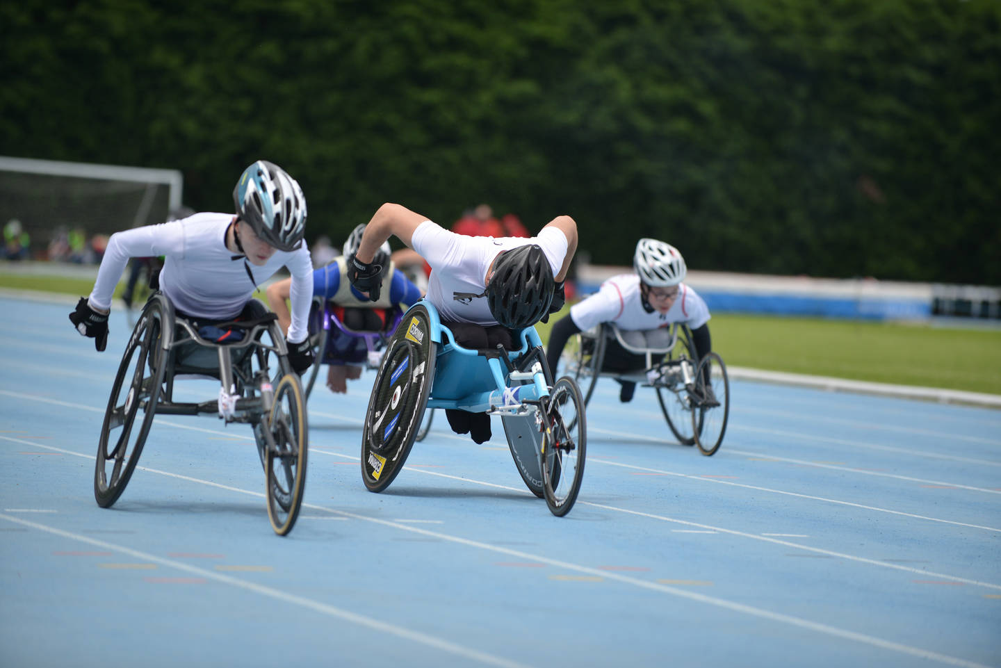 Wheelchair racers at the Nationals 2016