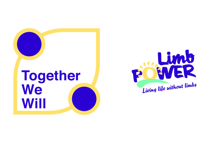 Image shows LimbPower logo and Together We Will logo.