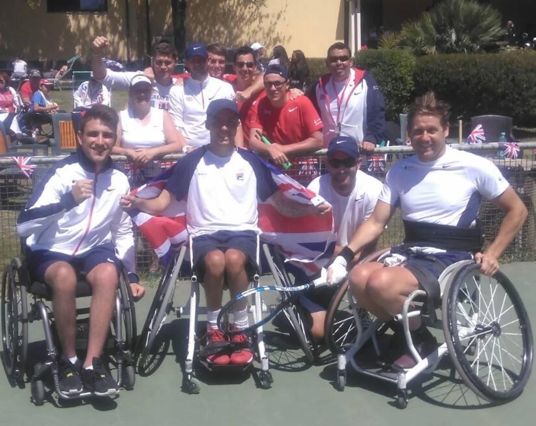 e2a439b05 GB quad wheelchair tennis team win fifth World Team Cup title