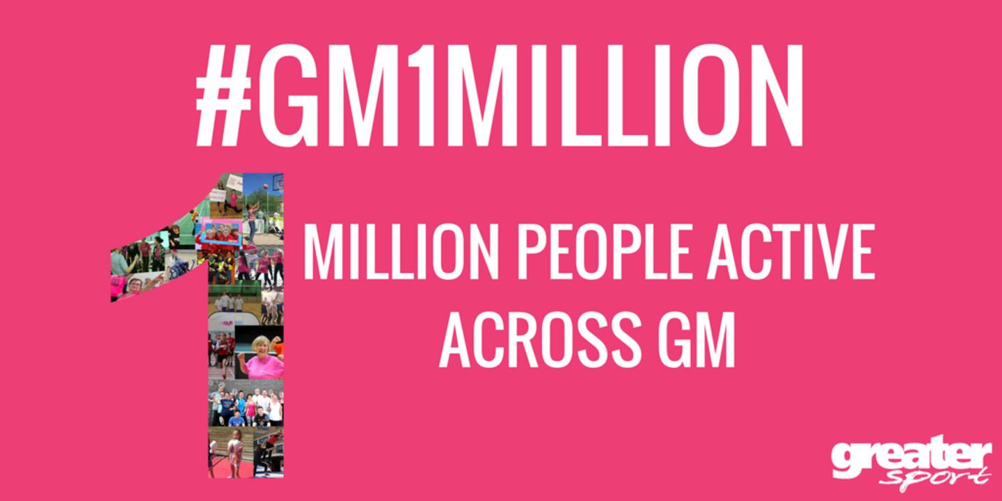 Greater Manchester 1 million graphic