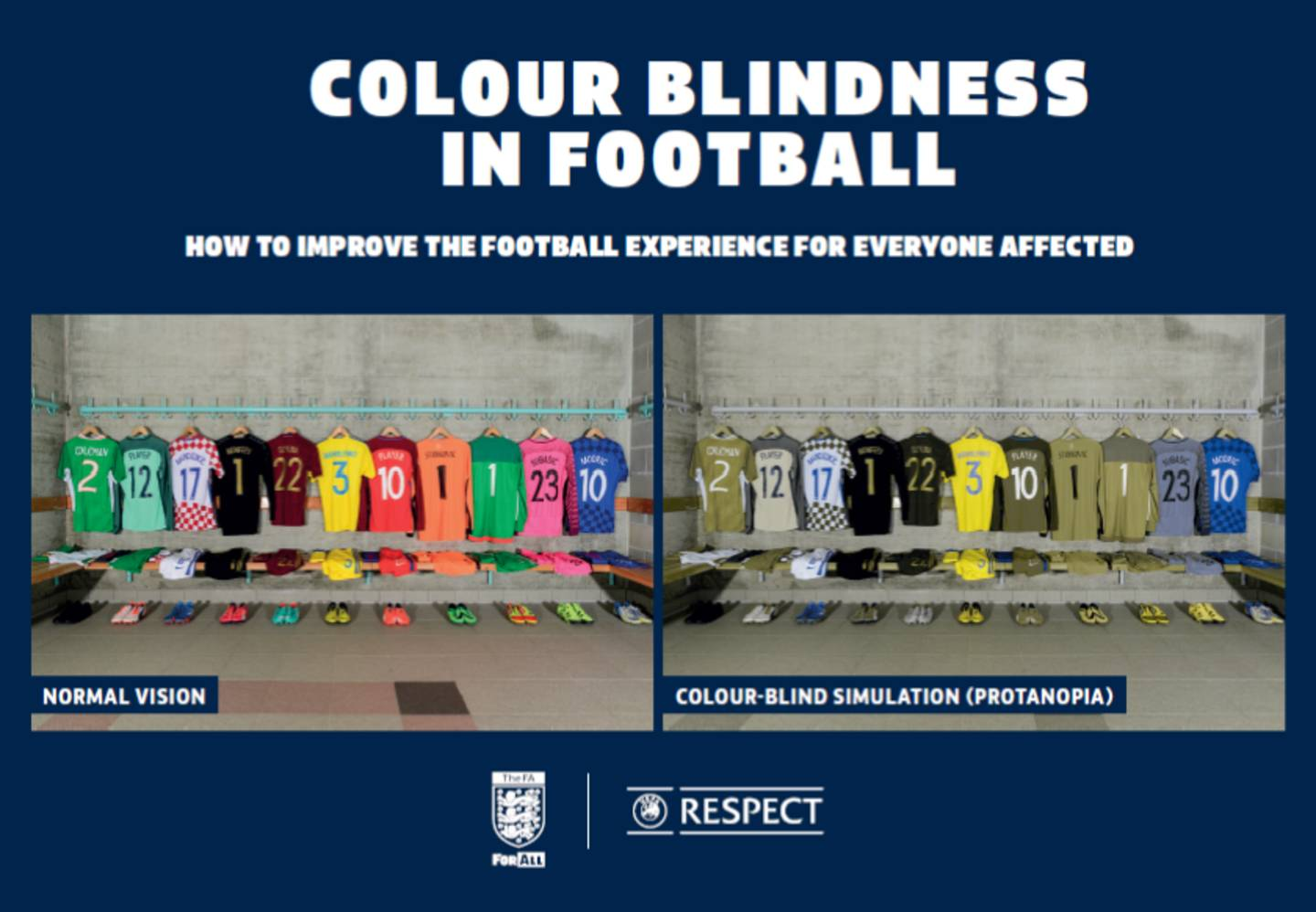 Colour blindness guide cover