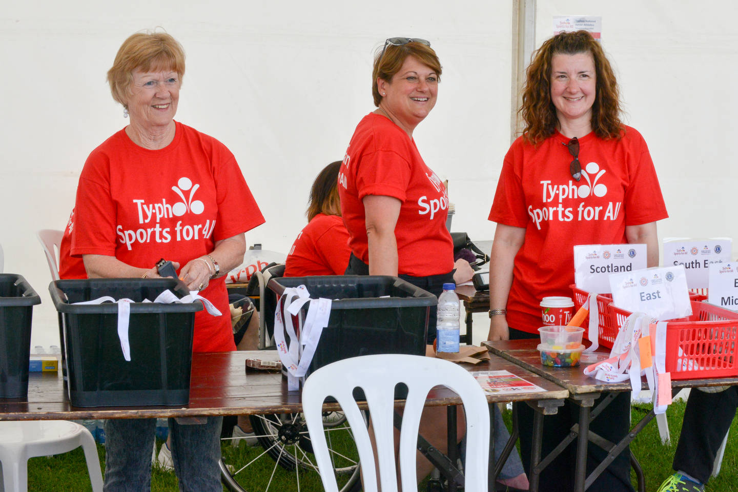 Athletics volunteers