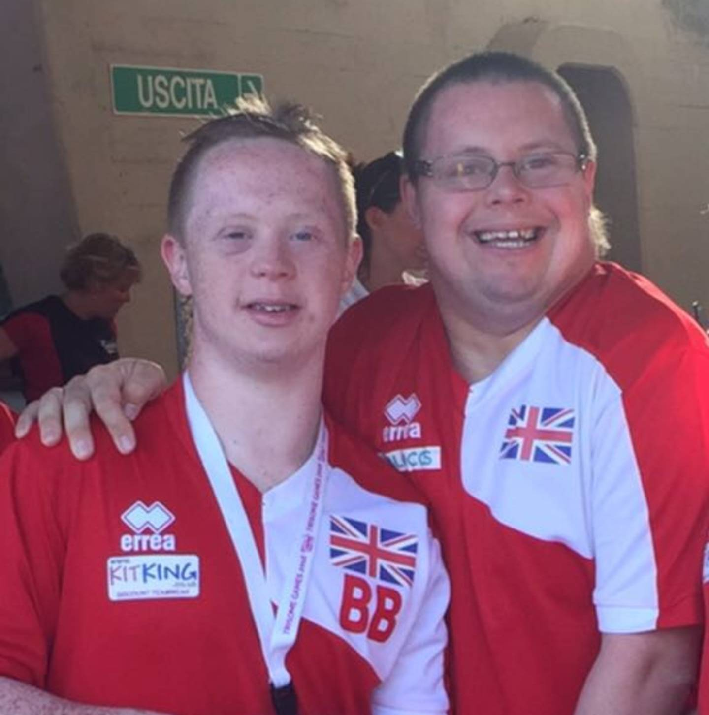 Billy Birchmore (left), Mark Holmes (Right) GB Team to Inas World Swim Mexico (2017)