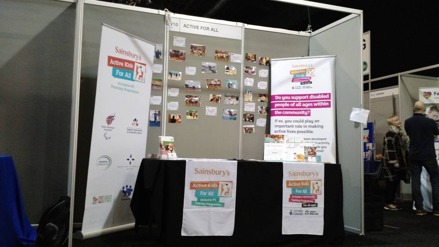 EFDS' Stand at Kidz to Adultz North 2017