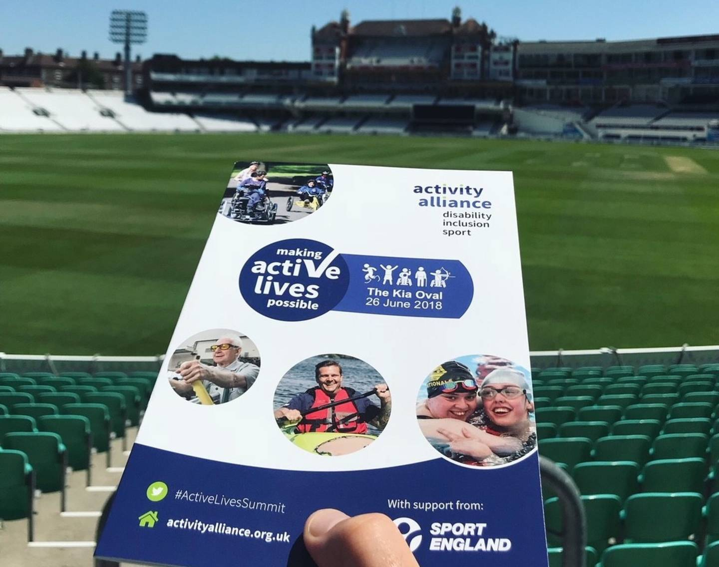 Making Active Lives Possible Summit at The Kia Oval