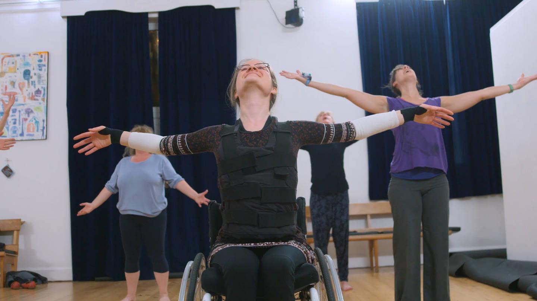 Hannah taking part in ballet