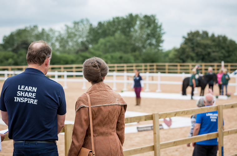 The centre is hoping to double the number of riders attending for lessons in the coming months.