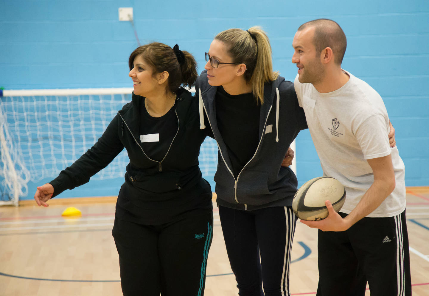 Coaches taking part in IAP workshop