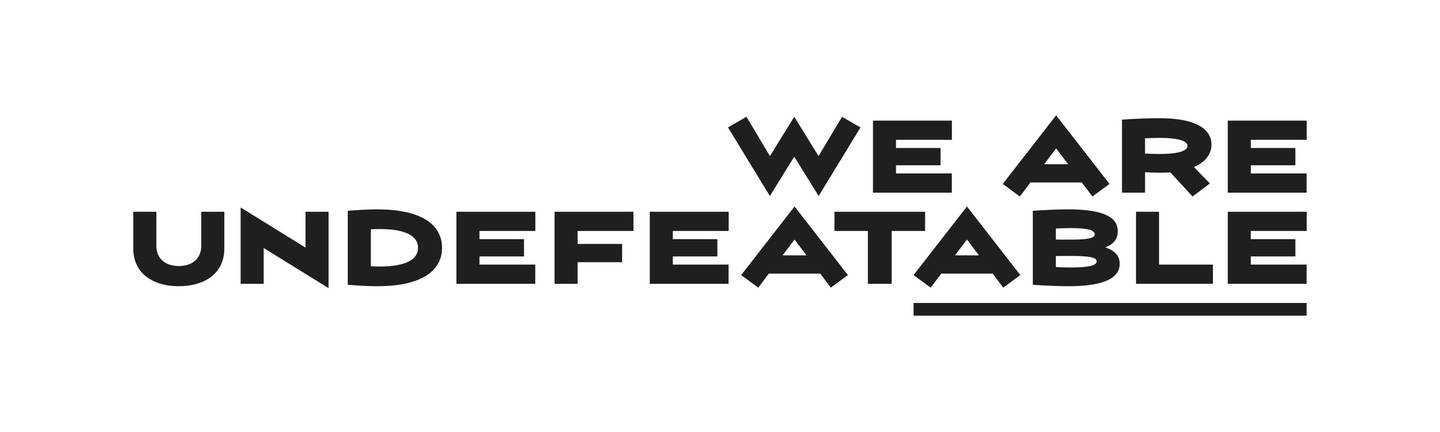 We are Undefeatable logo
