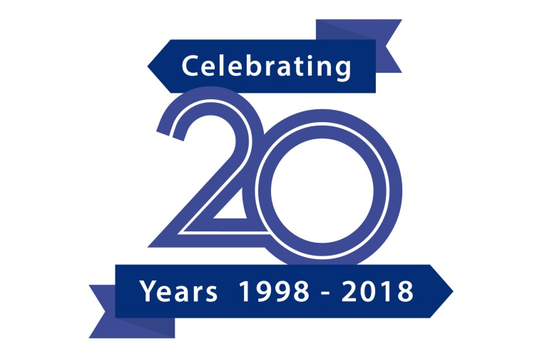 Activity Alliance celebrating 20 years graphic 1998-2018